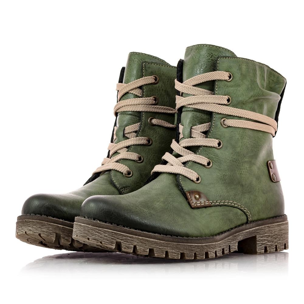 7022ef4dbf Obuv Rieker - Kotníčky - Dámska obuv značky Rieker zelenej farby