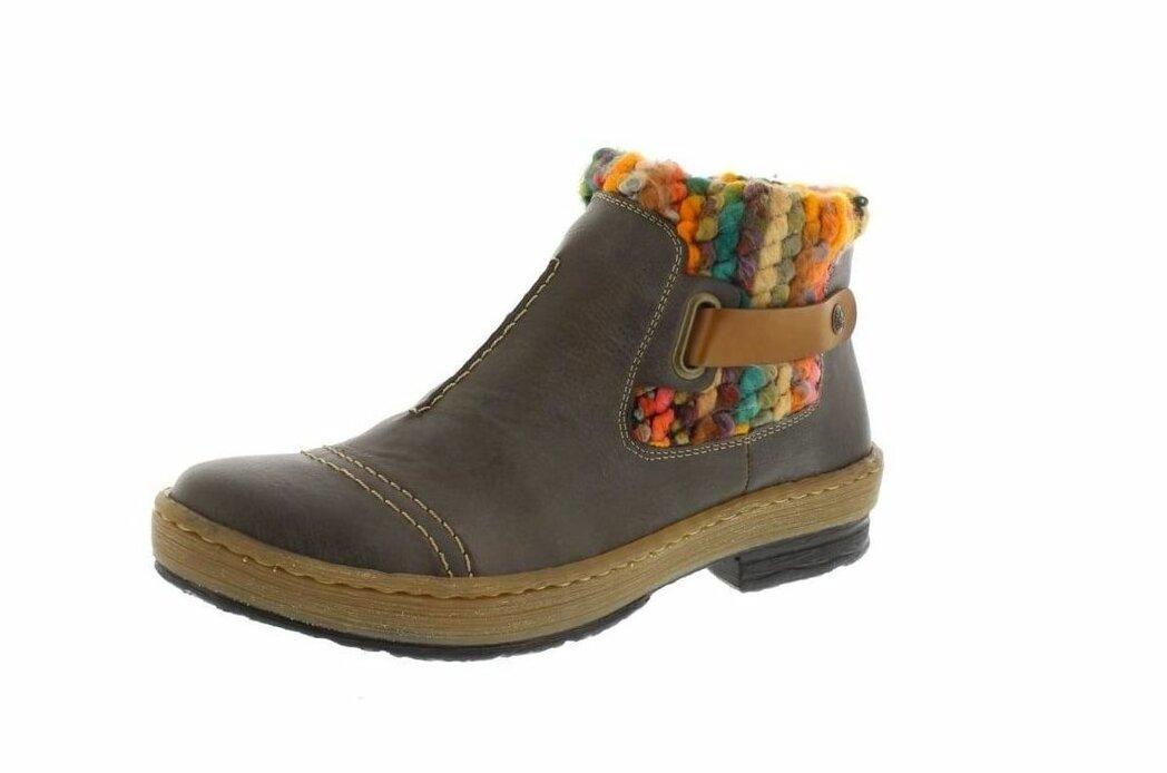 Obuv Rieker - Novinky zo sveta Rieker - Zateplená členková obuv v novej  kolekcii 39bc29deeee